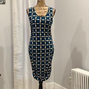 Rachel Roy bold print dress size L